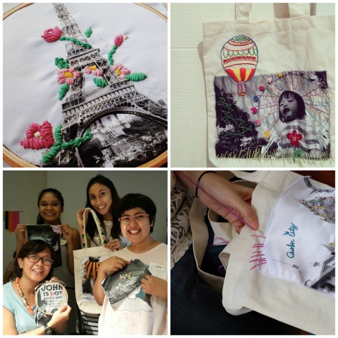 photos taken from @putrifebriana, @ikeayuningtyas, @listyasariputri, and @workshopinabox's Instagram.